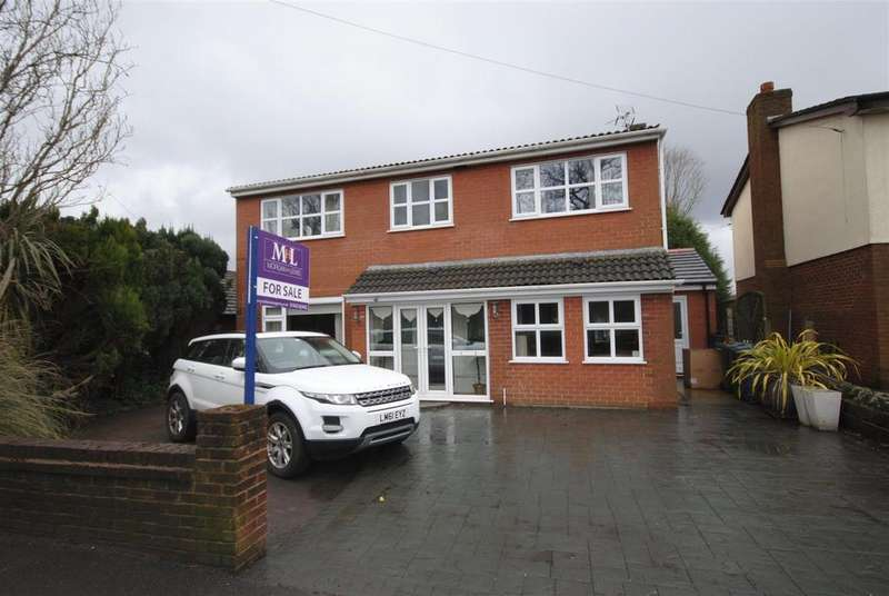 5 Bedrooms Detached House for sale in Sandbrook Road, Orrell, Wigan