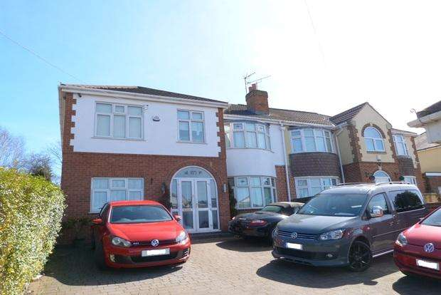5 Bedrooms Semi Detached House for sale in Melton Road, Thurmaston, Leicester, LE4