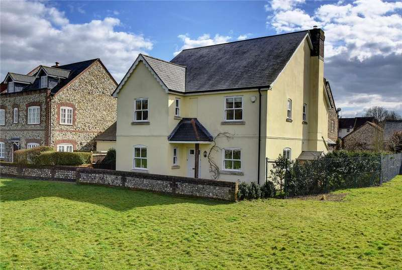 4 Bedrooms Detached House for sale in The Green, East Meon, Petersfield, Hampshire