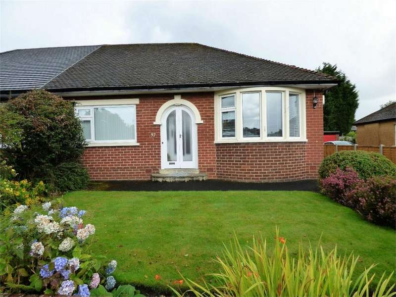 3 Bedrooms Semi Detached Bungalow for sale in Grasmere Avenue, BLACKBURN, Lancashire