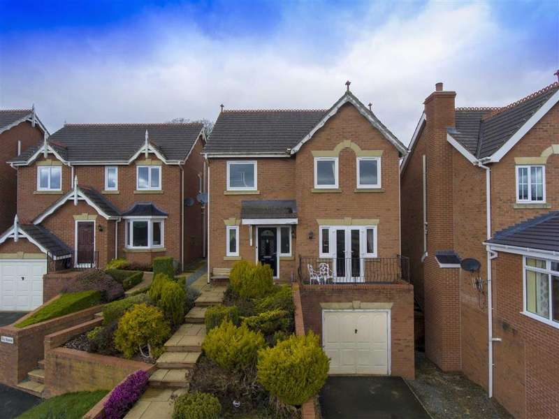 4 Bedrooms Detached House for sale in Gungrog Hill, Welshpool, SY21