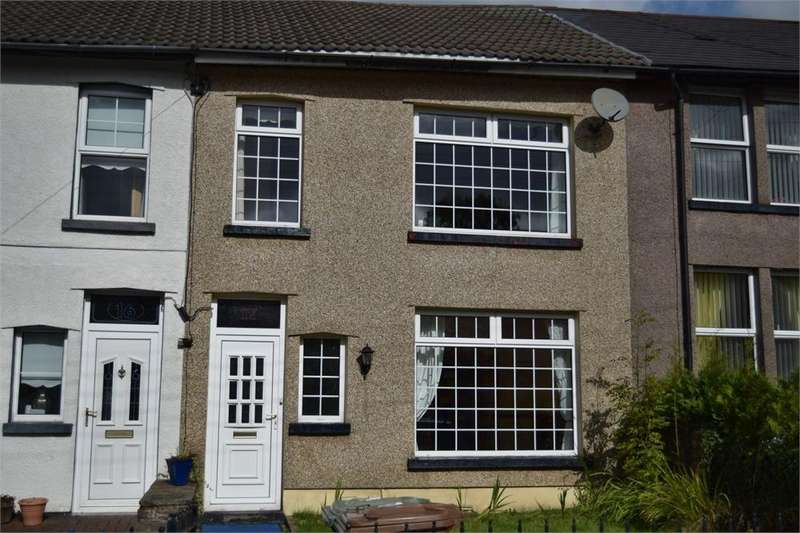 2 Bedrooms Terraced House for sale in Britannia Terrace, Pengam, Blackwood