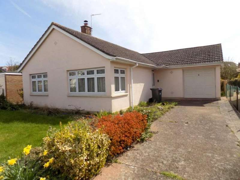 2 Bedrooms Detached Bungalow for sale in Keverel Road, Exmouth