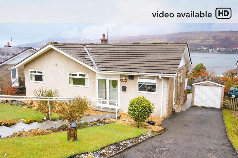 3 Bedrooms Detached House for sale in Straid-a-cnoc, Clynder, Argyll Bute, G84 0QX