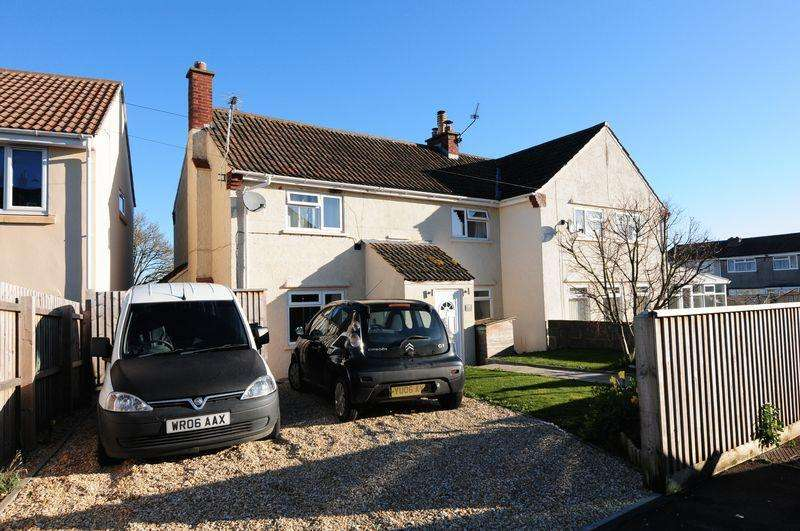 3 Bedrooms Semi Detached House for sale in Hillcrest, Pensford, Bristol, BS39