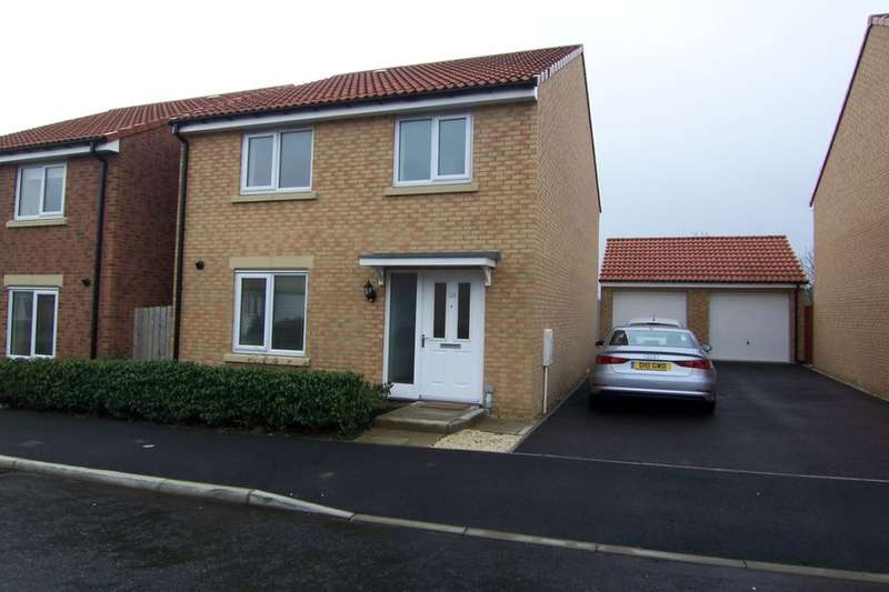 4 Bedrooms Detached House for sale in Canberra Drive, Cramlington, NE23