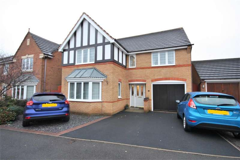 4 Bedrooms Property for sale in Buckingham Road, Coalville