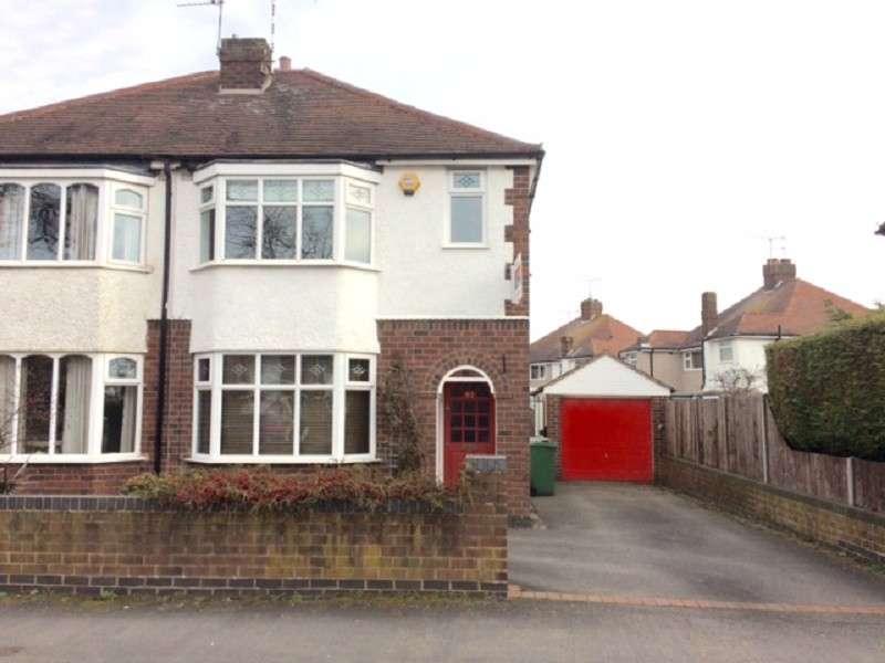3 Bedrooms Semi Detached House for sale in Highfield Road, Nuneaton, Warwickshire. CV11 4PL