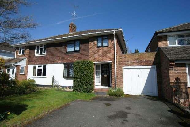 3 Bedrooms Semi Detached House for sale in Fairway Avenue, Tilehurst, Reading,