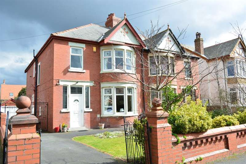 4 Bedrooms Semi Detached House for sale in Ullswater Road, South Shore, Blackpool, FY4 2BZ