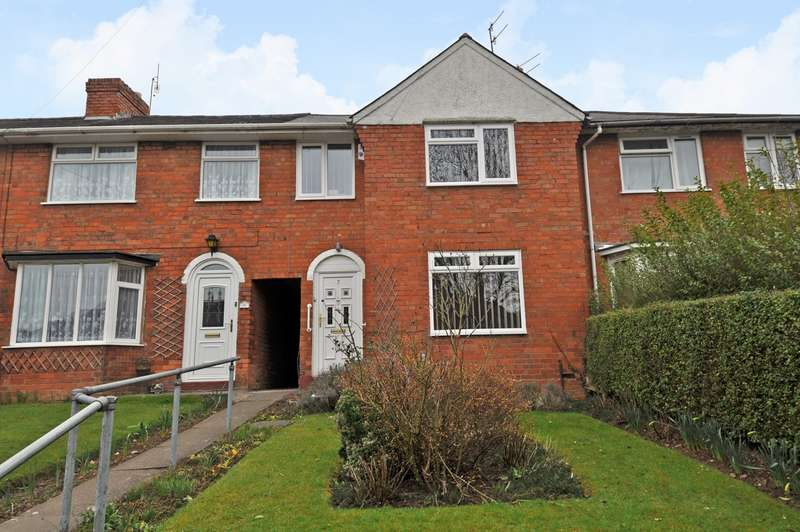 3 Bedrooms End Of Terrace House for sale in Corley Avenue, Northfield, Birmingham, B31