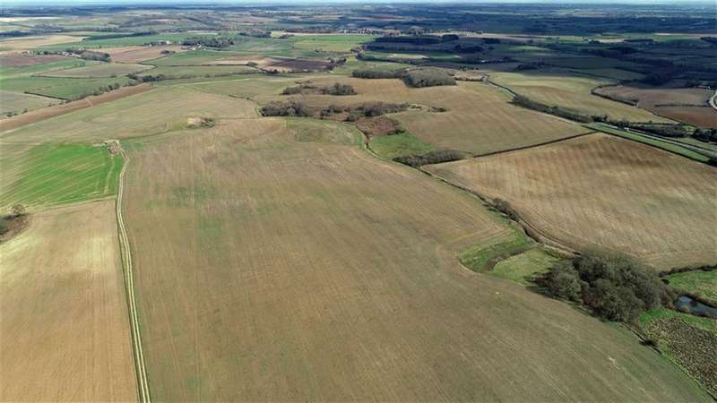 Land Commercial for sale in Farmland, Old Hall Farm, Spilsby, Lincolnshire