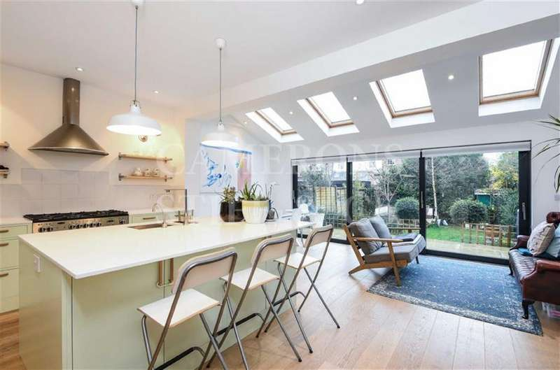 4 Bedrooms Terraced House for sale in Dewsbury Road, Dollis Hill, London, NW10