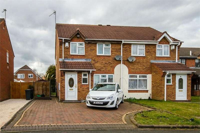 3 Bedrooms Semi Detached House for sale in Mickley Avenue, Fallings Park, Wolverhampton, West Midlands
