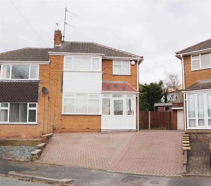 3 Bedrooms Semi Detached House for sale in Maypole Drive, Stourbridge