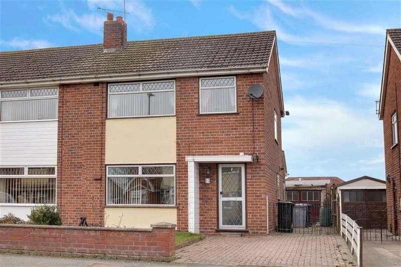 3 Bedrooms Semi Detached House for sale in Dorric Way, Crewe