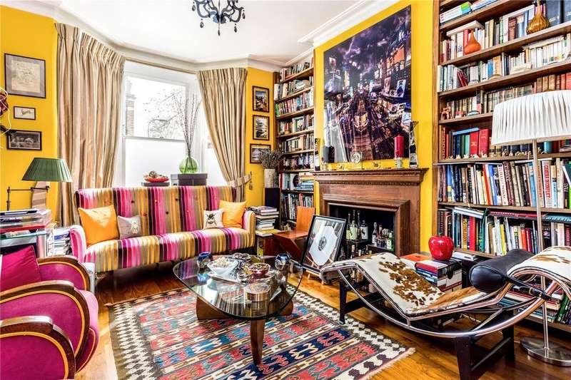4 Bedrooms Terraced House for sale in Delvino Road, Fulham, London, SW6
