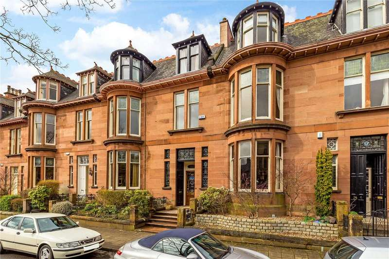 6 Bedrooms Terraced House for sale in Kingsborough Gardens, Hyndland, Glasgow, G12