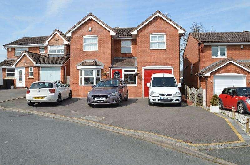 4 Bedrooms Detached House for sale in Moorcroft Gardens, Walkwood, Redditch