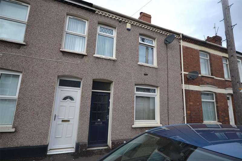 3 Bedrooms Terraced House for sale in North Clive Street, Grangetown, Cardiff, CF11