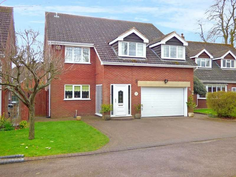 5 Bedrooms Detached House for sale in Friary Gardens, Lichfield