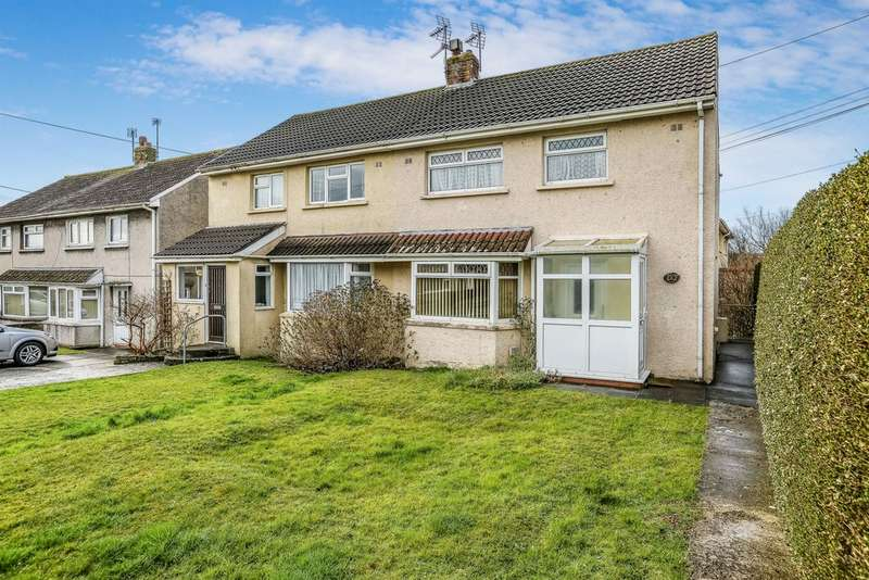 3 Bedrooms Semi Detached House for sale in Llangewydd Road, Bridgend