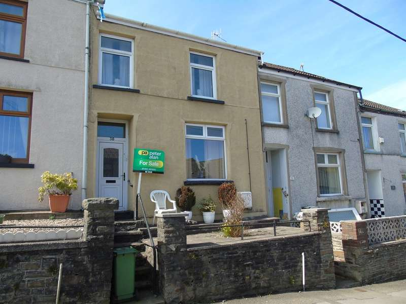 3 Bedrooms Terraced House for sale in Llanwonno Road, Mountain Ash