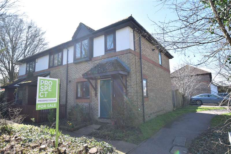 2 Bedrooms End Of Terrace House for sale in Swithin Chase, Warfield, Bracknell, Berkshire, RG42