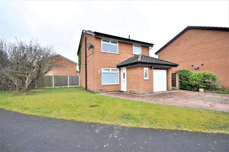 3 Bedrooms Detached House for sale in Frobisher Drive, St Annes, Lytham St Annes, Lancashire, FY8 2RG