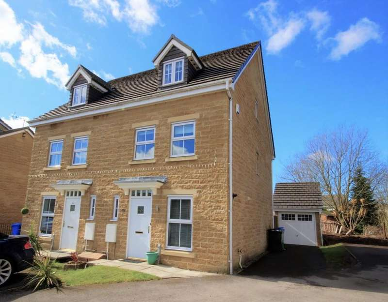 3 Bedrooms Semi Detached House for sale in Wasp Mill Drive, Rochdale