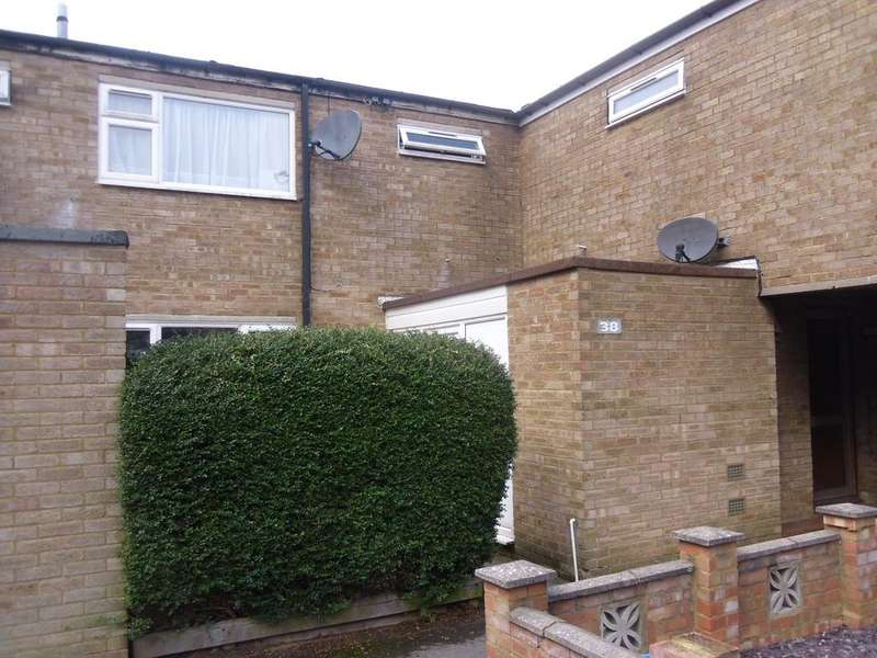 3 Bedrooms Terraced House for sale in Ely Close, St SG1