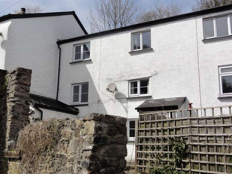 3 Bedrooms Semi Detached House for sale in Cleave Mill Cottage, Sticklepath, Okehampton, Devon, EX20