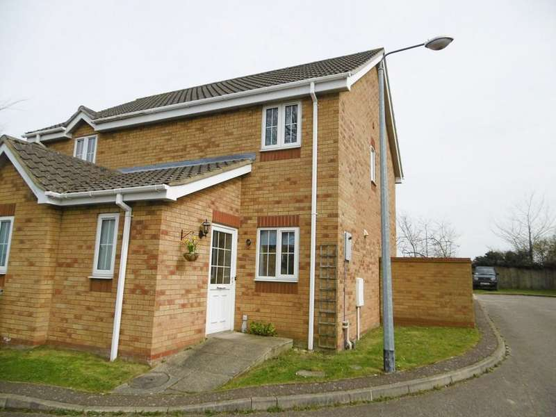 2 Bedrooms Semi Detached House for rent in Cawston