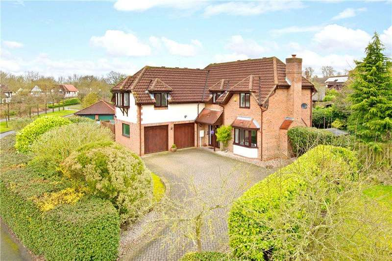 5 Bedrooms Detached House for sale in Simpson Road, Walton Park, Milton Keynes, Buckinghamshire