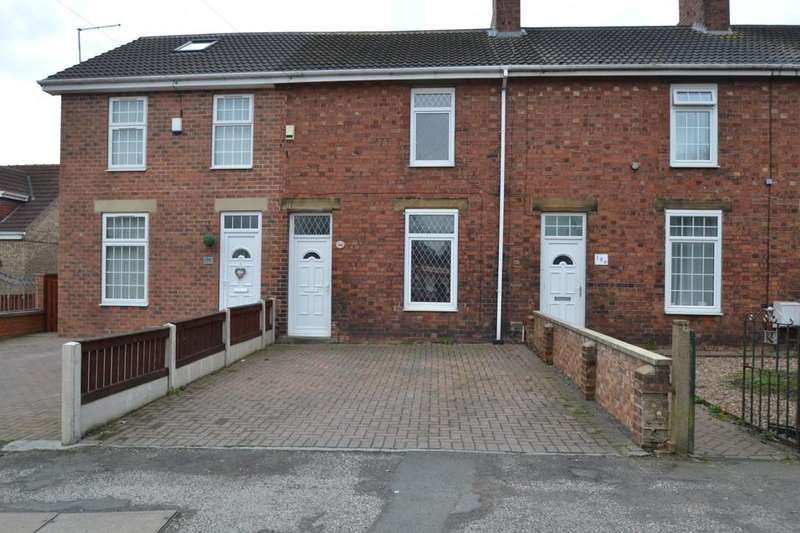 2 Bedrooms Terraced House for sale in Barnsley Road, South Kirkby, Pontefract