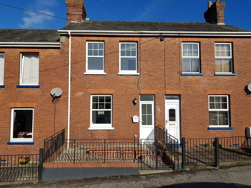 2 Bedrooms Terraced House for sale in Woodmead Road, Axminster