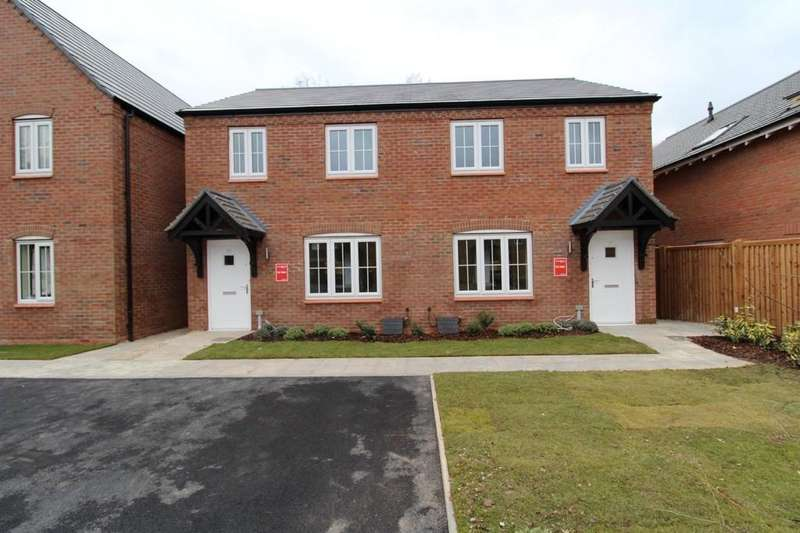 2 Bedrooms Semi Detached House for sale in Plot 141a Tidbury Heights