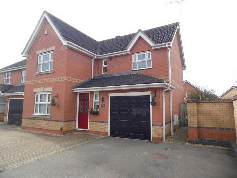 4 Bedrooms Detached House for rent in Cobblestone Court, Hunsbury Meadows, Northampton