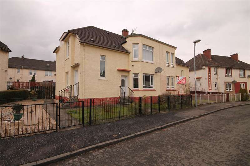 2 Bedrooms Flat for sale in Oxford Street, Coatbridge