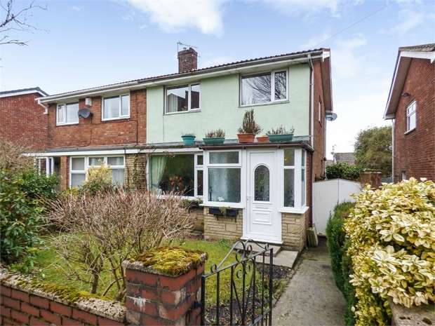 3 Bedrooms Semi Detached House for sale in Raygill Avenue, Burnley, Lancashire