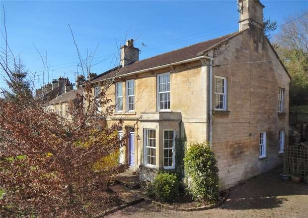 4 Bedrooms Semi Detached House for sale in 35 Frome Road, Bradford on Avon, Wiltshire
