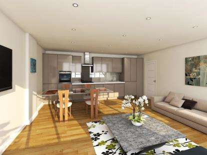 2 Bedrooms Flat for sale in Queensway Apartments, 1-11 Queensway, Bletchley