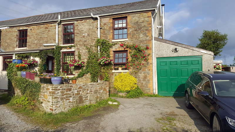 2 Bedrooms End Of Terrace House for sale in 1 Greenfield Terrace, Shwt, Bridgend, Bridgend County Borough, CF32 8UD
