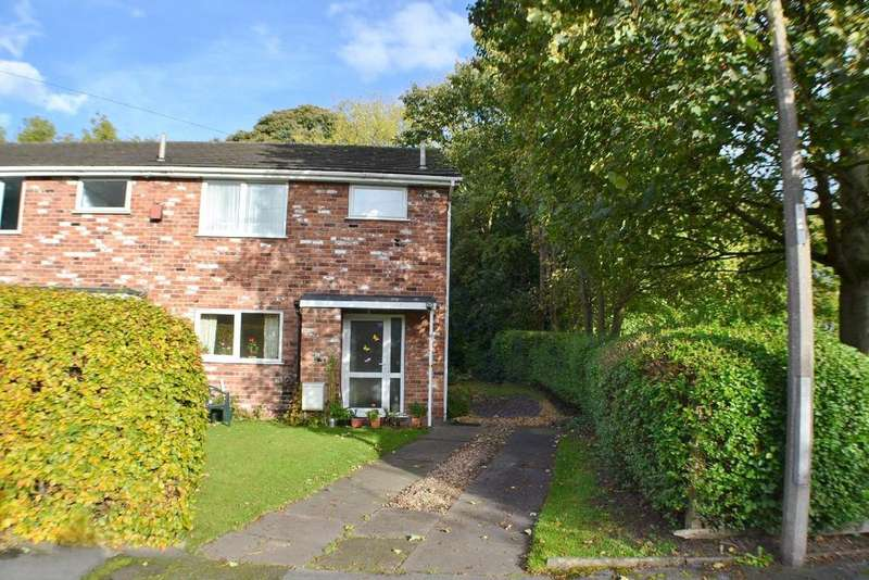 3 Bedrooms End Of Terrace House for sale in Crofters Court, Holmes Chapel
