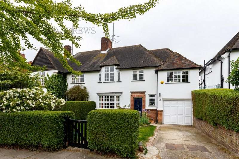 4 Bedrooms Semi Detached House for sale in Brentham Way, Ealing, W5