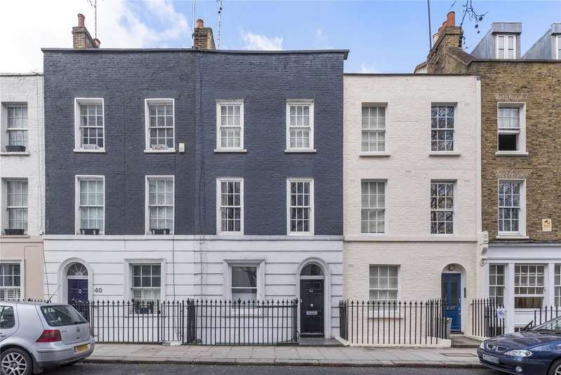 2 Bedrooms Flat for sale in Mornington Crescent, London