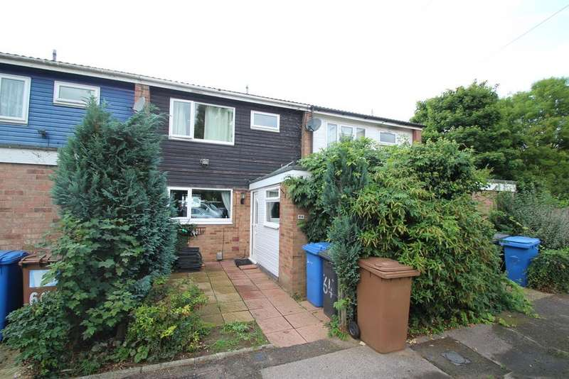 3 Bedrooms Terraced House for sale in Emmanuel Close, Ipswich, IP2