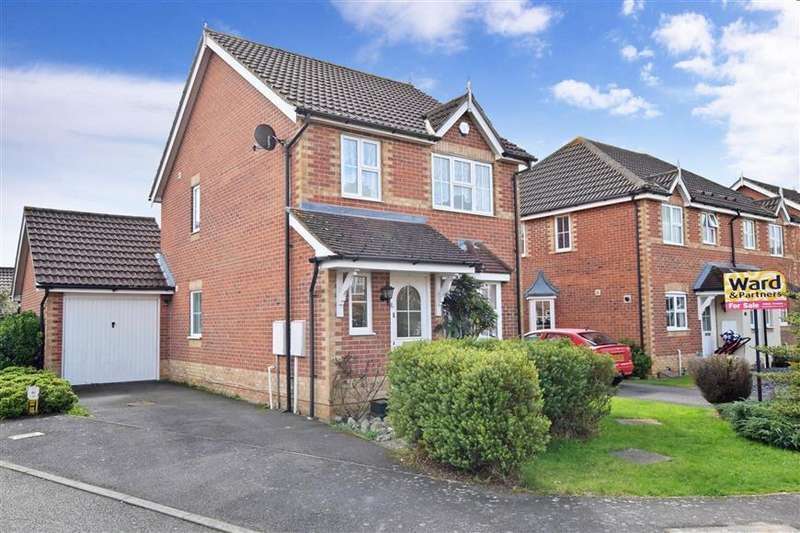 3 Bedrooms Detached House for sale in Foster Clarke Drive, Boughton Monchelsea, Maidstone, Kent