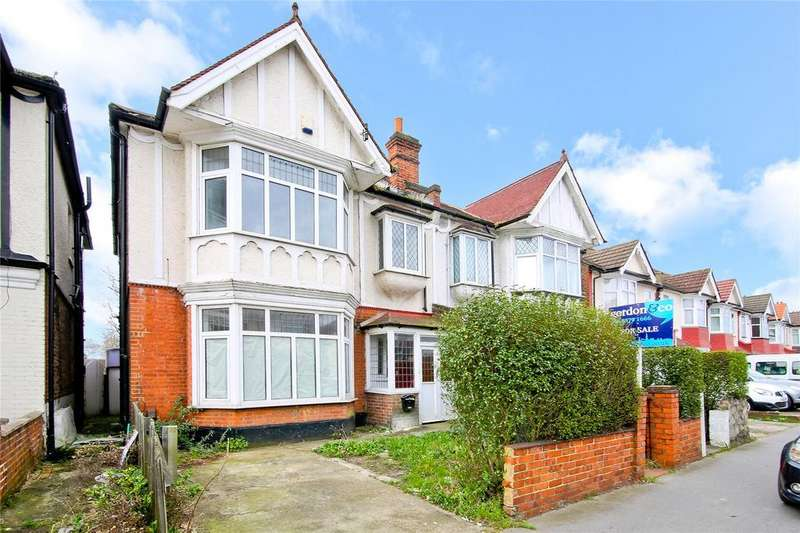 4 Bedrooms Semi Detached House for sale in Melfort Road, Thornton Heath, CR7