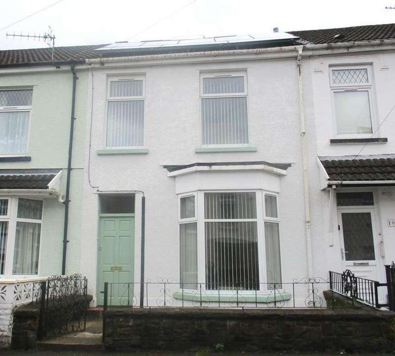 4 Bedrooms Terraced House for sale in Pendarren Street, Aberdare